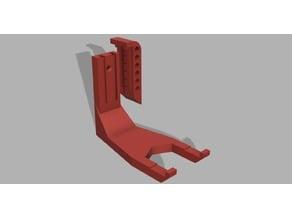 Crossbow pistol wall mount