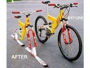 Ski Bike, Snowboard Bike, Axle Adapters