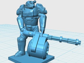 T-60 Power Armour Mini