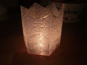 Snowflake Light holder