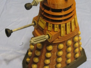 Detailed Dalek model redrawn