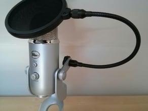 Blue Yeti Microphone Pop Filter Bracket