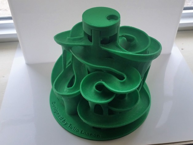 The 3d Printed Marble Machine 3 By Joren352