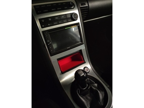 2005-2007 Infiniti G35 Coupé (Nissan Skyline) Ashtray Cubby Replacement