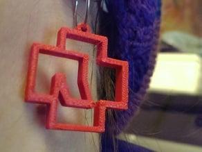 Rammstein Earring