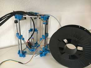 Backpack Mini Delta 3D Printer