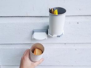 Pringles Wall Organizer