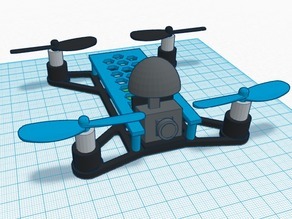 Variable Micro Quadcopter Frame