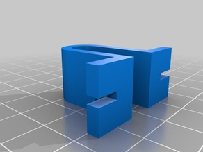 Prusa i3 Acrylic Model clamp