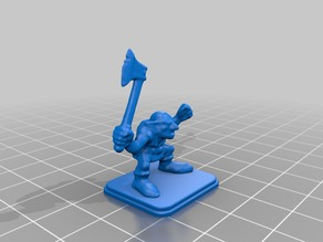 HeroQuest - Goblin with Axe