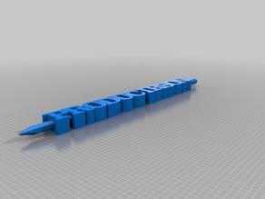 ProducirSon TEXT pencil holder
