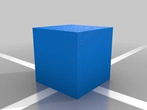 Simplify3d location cube