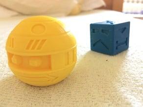 Zeroid vs Cube