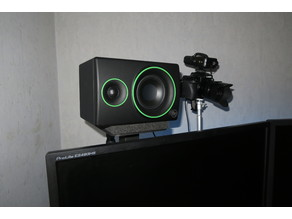 STAND SPEAKERS / SUPPORT ENCEINTES (For support double/triple screen)