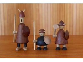 """The Vikings of Denmark - Jacob Jensen """"small"""""""