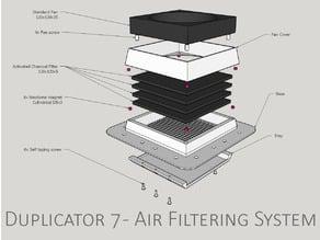 Duplicator 7 - Air Filtering System