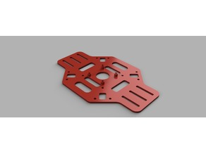 F450 Quad Bottom Plate for Flight Controller - Remix