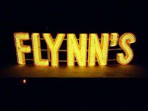 FLYNN's NEON Sign