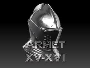 Armet Helmet XV-XVI century
