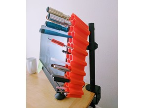 Monitor Honeycomb Pen Holder