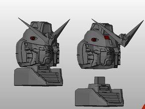 Gundam rx78 mini bust