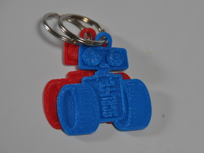 Robot Keychain - Promote SCRU-FE and programming in Education