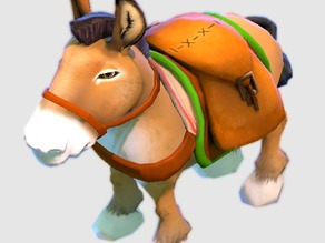 dota 2 courier donkey