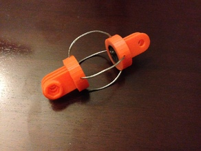 GoPro Anti Jello Wire Isolator Mount with OpenSCAD Source