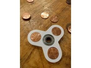 Fidget Hand Spinner Pennies