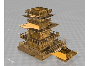 japanese_Five-storied pagoda_flower_stand