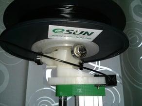 Horizontaler Spulenadapter für Spulenhalter MKIII / horizontal spool adaptor