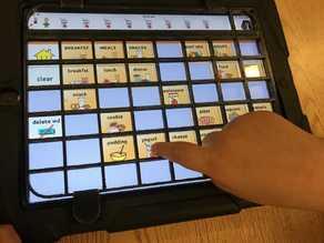 Ipad TouchChat Keyguard