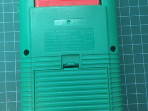 Nintendo Gameboy Cartridge dust cover