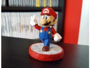 Custom amiibo - Super Mario 64 model