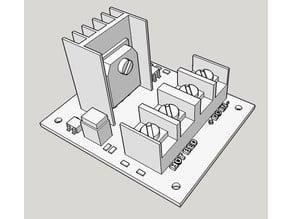 cbd-3d MOSFET enclosure