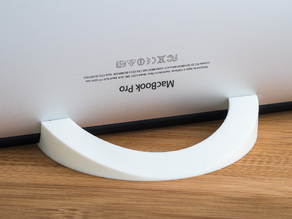 Vertical Laptop Stand (Macbook Pro)