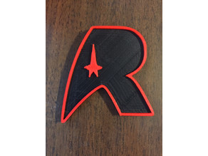 USS Republic Badge