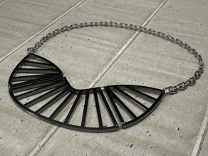 Radial Statement Necklace