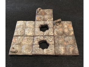 Mud and Rock Dungeon Tiles w/ openLOCK