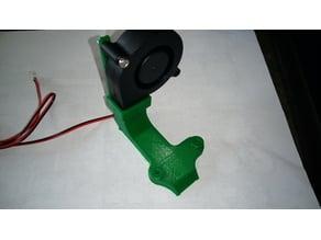 Fan Duct for the 50 mm Radial Fan
