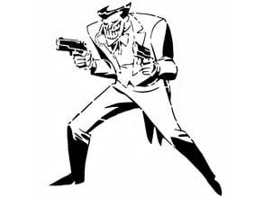 Joker stencil 3