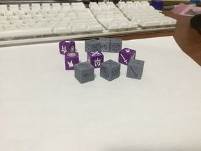 Battlelore 2nd ed Dice
