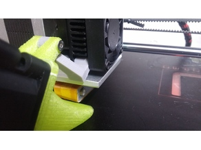 40mm fan duct for CTC Prusa