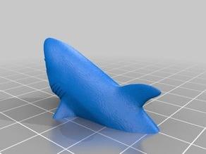 "1-87 HO Scale Great White Shark ""big f***ing Shark movie shark"""