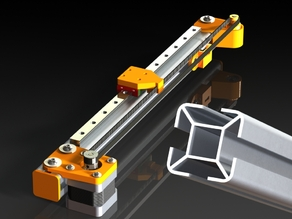 Linear motion guide (lightweight)