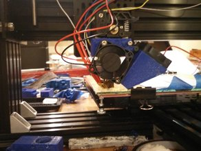 Folger Tech MK9 Jhead Mount & Fan Shroud