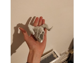 Deathclaw Head - Fully 3D Printable