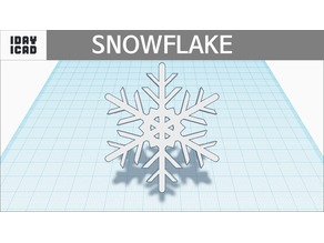 [1DAY_1CAD] SNOWFLAKE