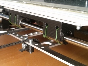 K8200 Y Axis bearing holder