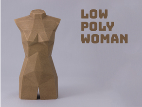 Low Poly Woman